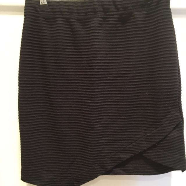 Cotton On Black Skirt