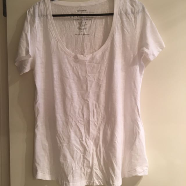 Cotton On White Tee