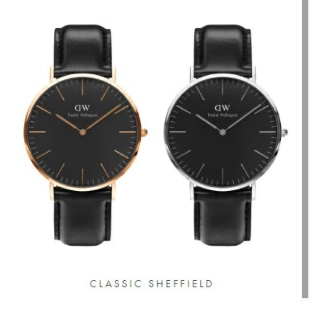 Original Daniel Wellington Classic Black Edition