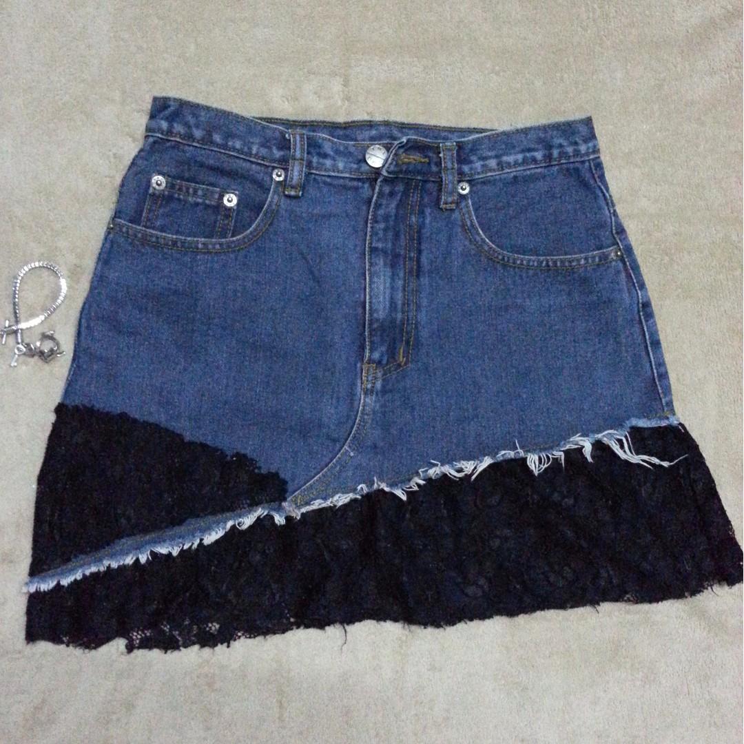 REPRICED: Denim Skirt!