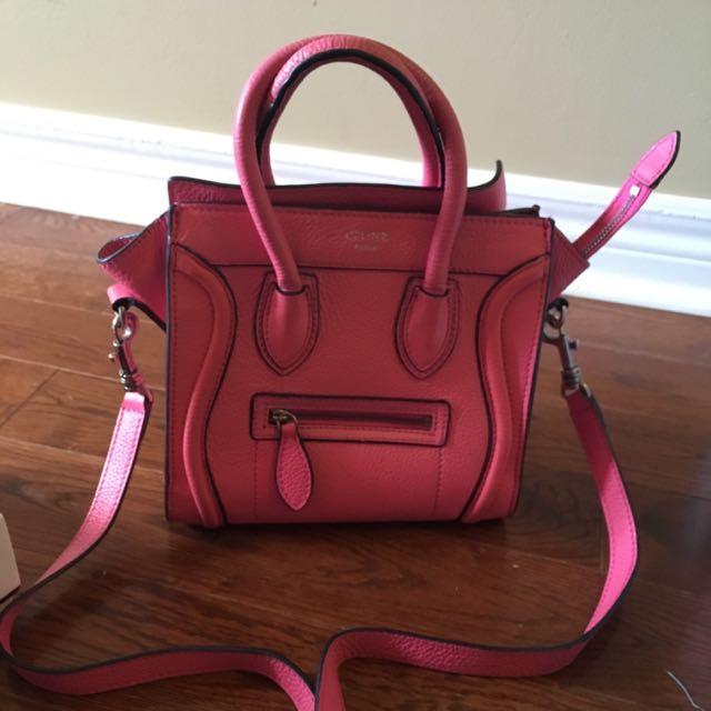 Designer Bag Authentic Celine Mini Bag