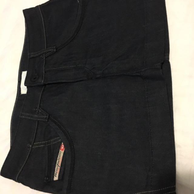 Diesel Denim Mini Skirt