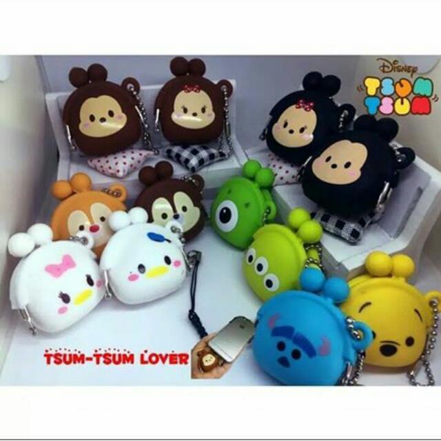Dompet Koin Karakter Disney Tsum Tsum