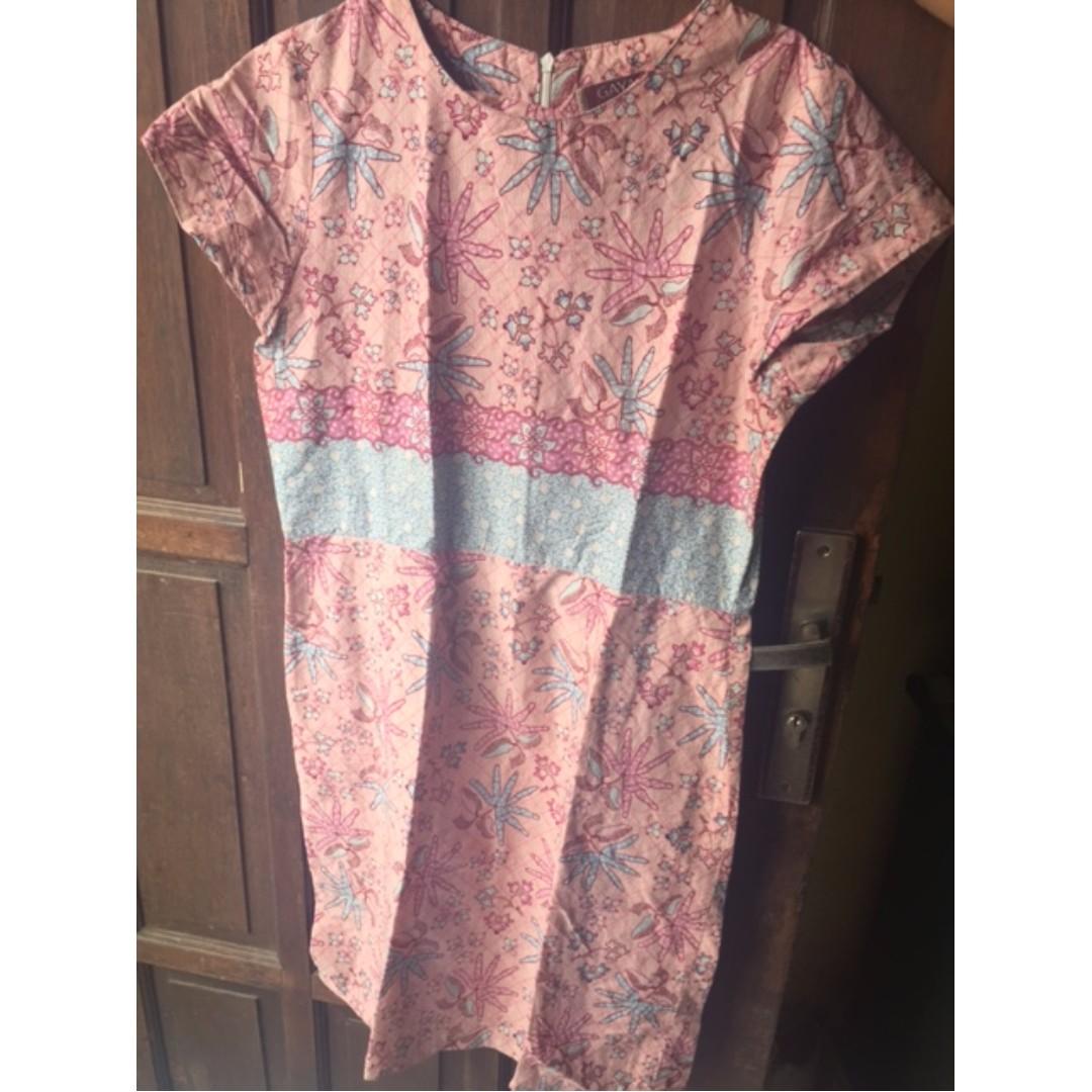 Dress Batik Dewasa Uk. L