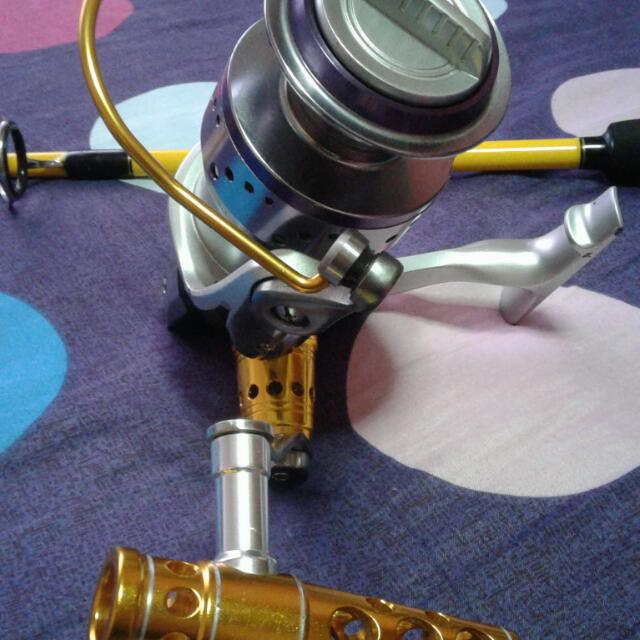 Ecooda reel HS10000 With Beast Master Pe6 Rod