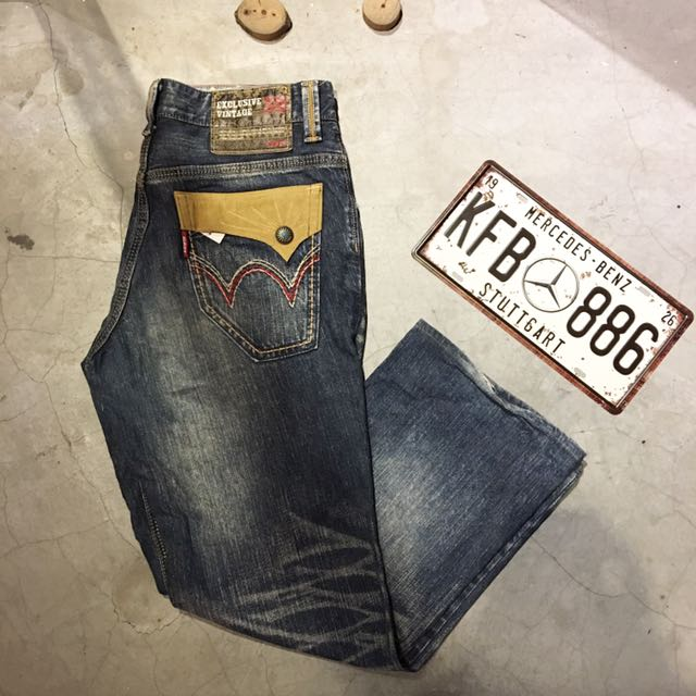 65c9357a Edwin Exclusive Vintage Jeans, Men's Fashion, Clothes on Carousell