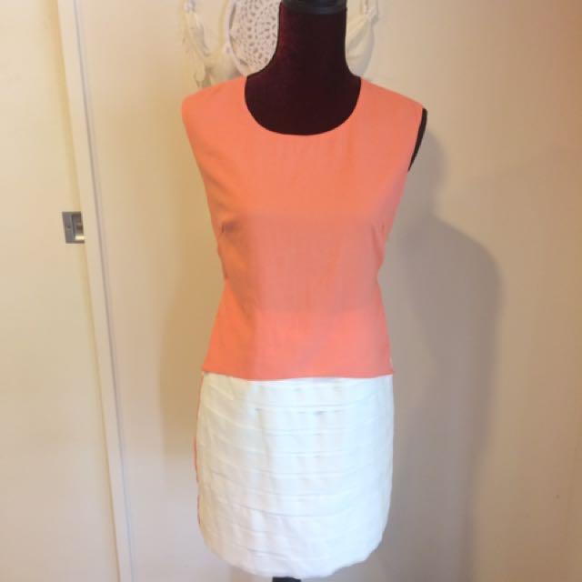 Elliatt Coral Dress