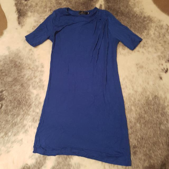 Ezra Electric Blue Shift Dress - Size XS