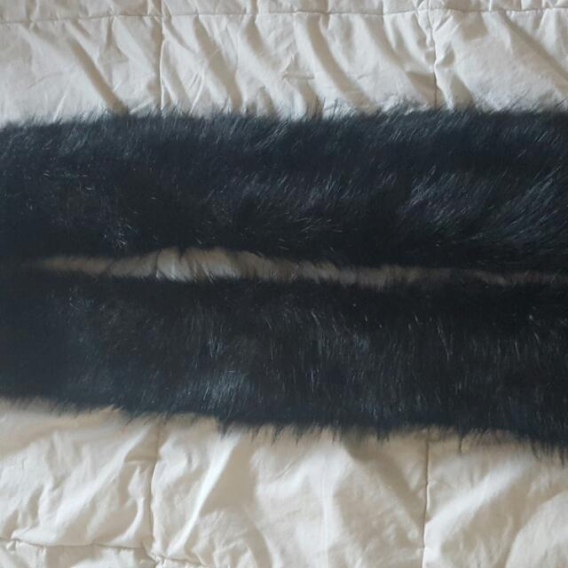 fau fur scarves