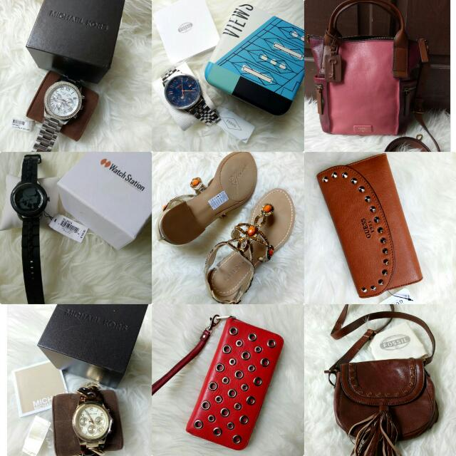 Fossil, Mk,Guess