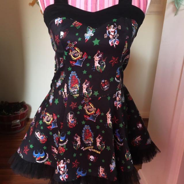 Hell Bunny Sailor Dress