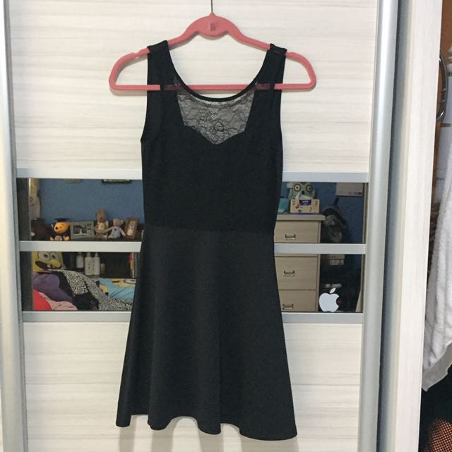 H&M Sexy Low Back Dress