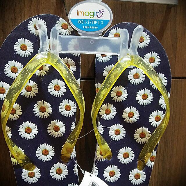 01970070ded5 Imported New Sunflower Flip Flops