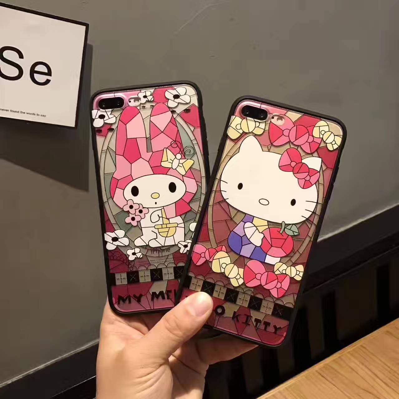 d35d9c9c6 Instocks Black Rims Hello Kitty & My Melody Mobile Hand Cell HP ...