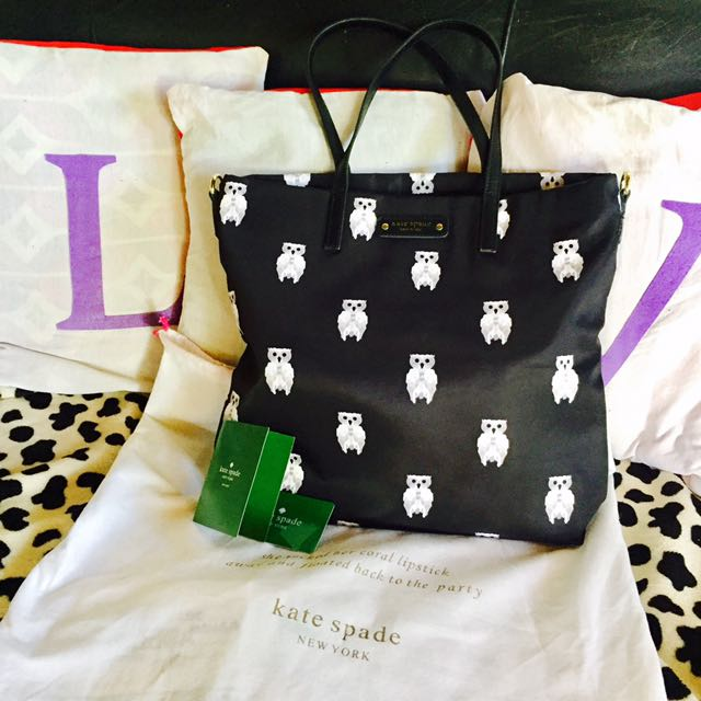 For Swap Or Sale! Kate Spade Owl Tote Bag