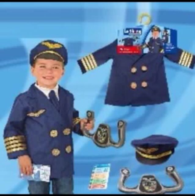 Kids Career Costume Pilot