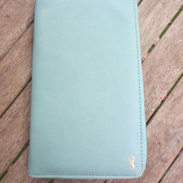 Light Blue Travel Wallet From Typo