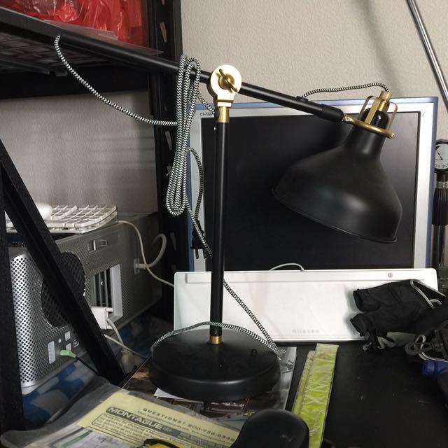 Loft工業風可旋轉桌燈(IKEA購入)