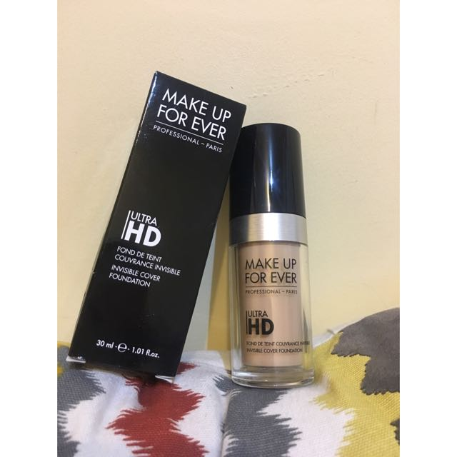 MAKE UP FOR EVER HD無瑕粉底液