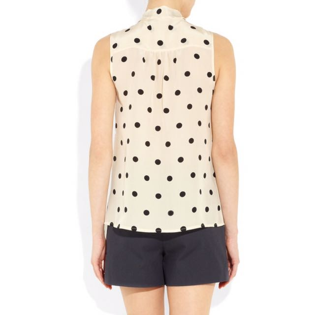 d5ef7b4886322 Marc by Marc Jacobs Hot Dot silk pussy-bow blouse