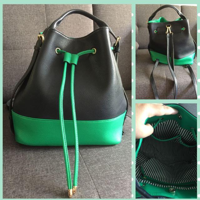Marcs 3-way Bucket And Backpack Bag
