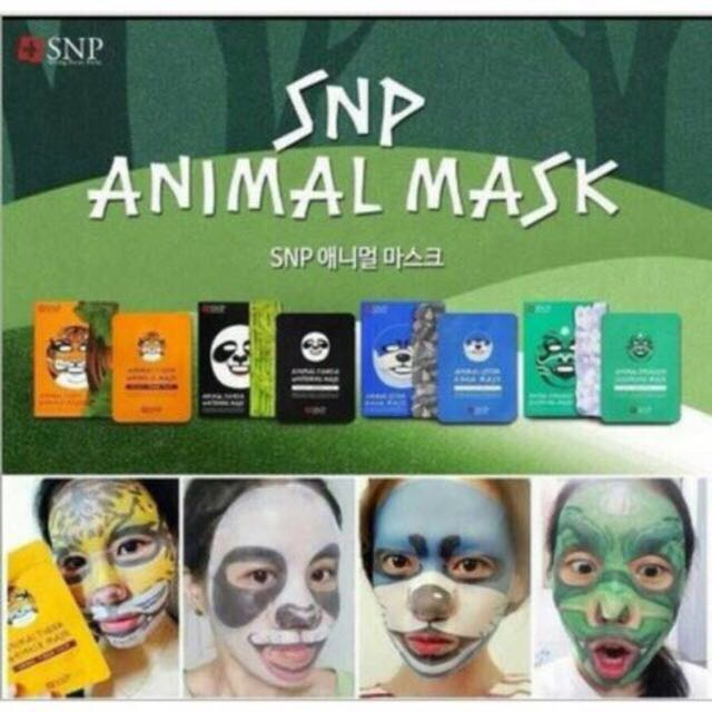 Masker SNP ANIMAL MASK