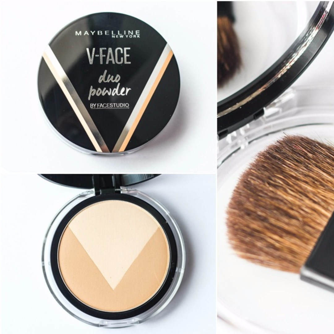 MAYBELLINE Face Studio - V Shape Powder MEDIUM DARK