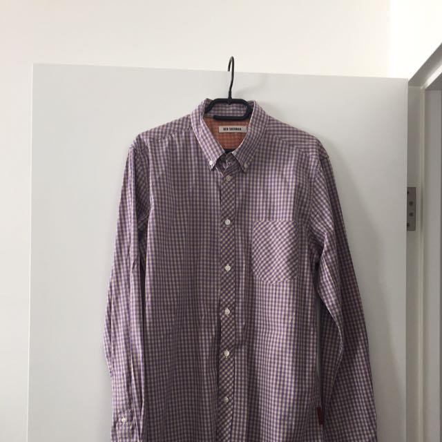 Men's Ben Sherman Shirt Size L