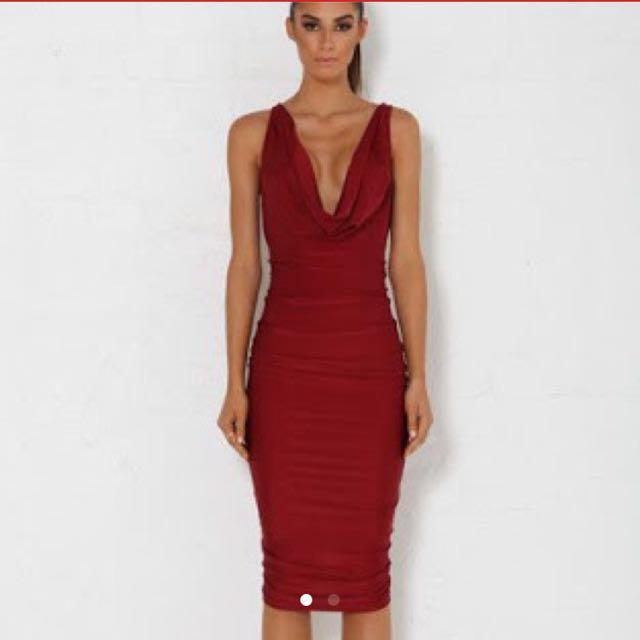 Meshki Sienna Drape Dress