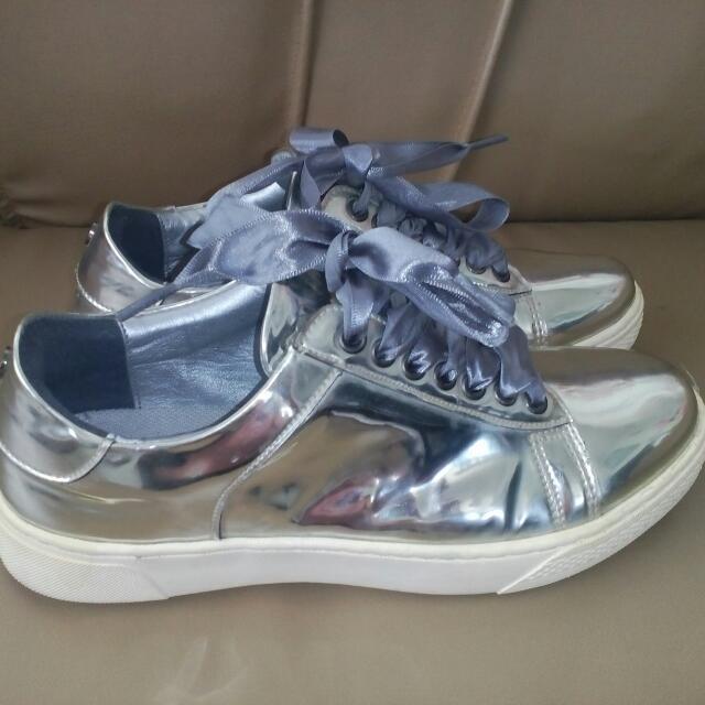 Metallic Style Shoes