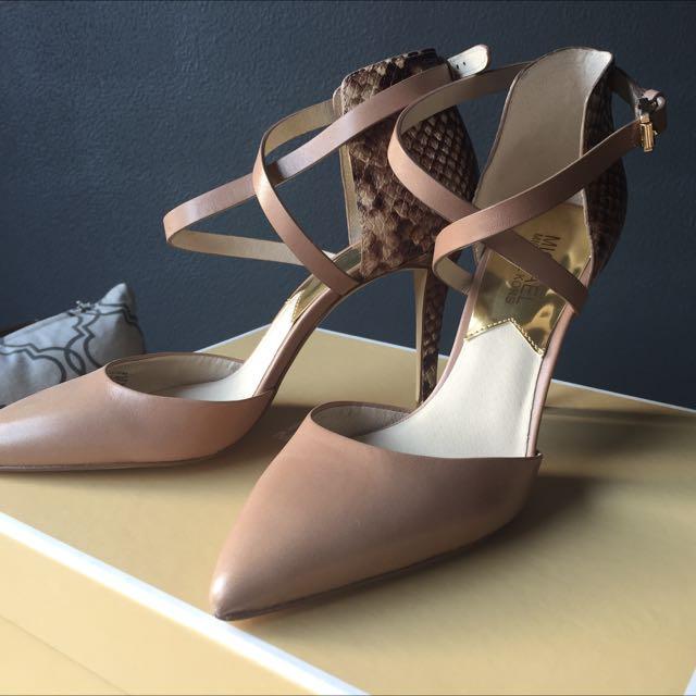 Michael Kors Alexia Closed Toe High Heels