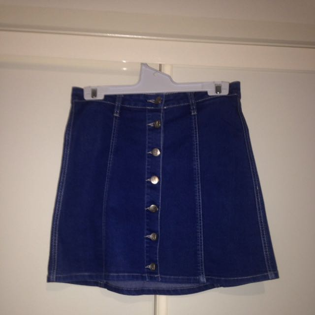 Minkpink Denim Skirt - Size S