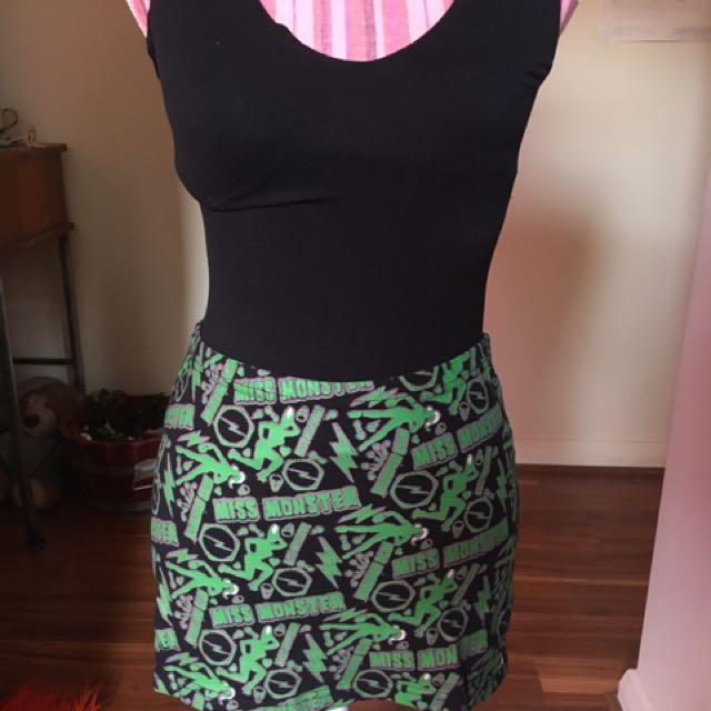Miss Monster Skirt