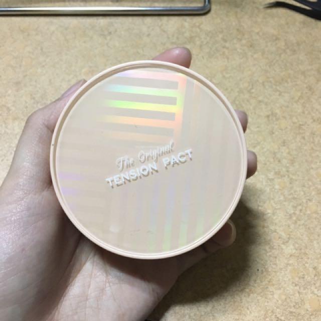 missha original tension pact 網狀氣墊 遮瑕款 橘盒