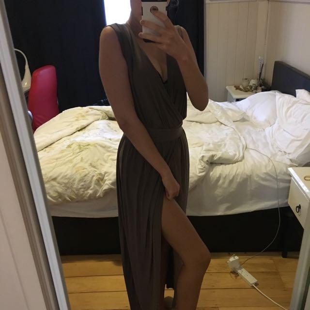 Mocha Formal Dress