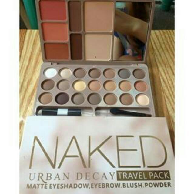 Naked Travel Pack