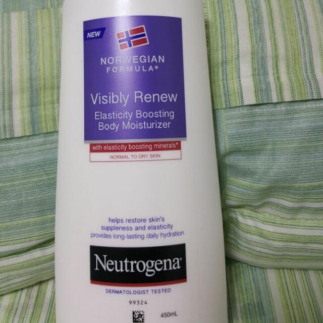 Neutrogena Visibly Renew Skin Elasticity Boosting