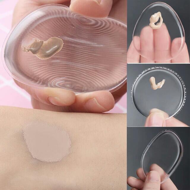 Silicone Puff silisponge Face Foundation Makeup puff cosmetic Beauty tools Foundation blender high quality [ Free