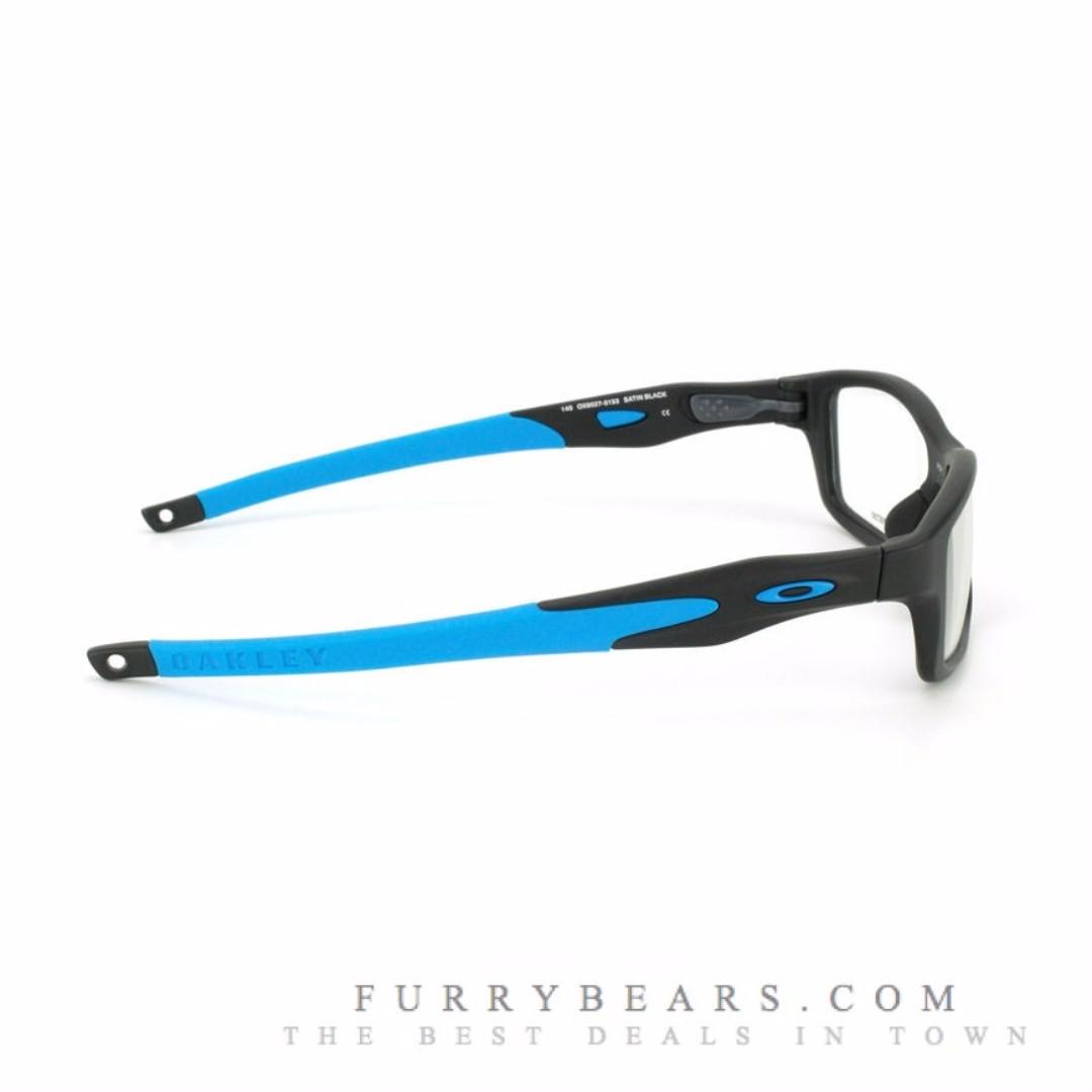 10b16f9ca8 Oakley OX8029 CROSSLINK Asian Fit 8029-01 Prescription Glasses ...