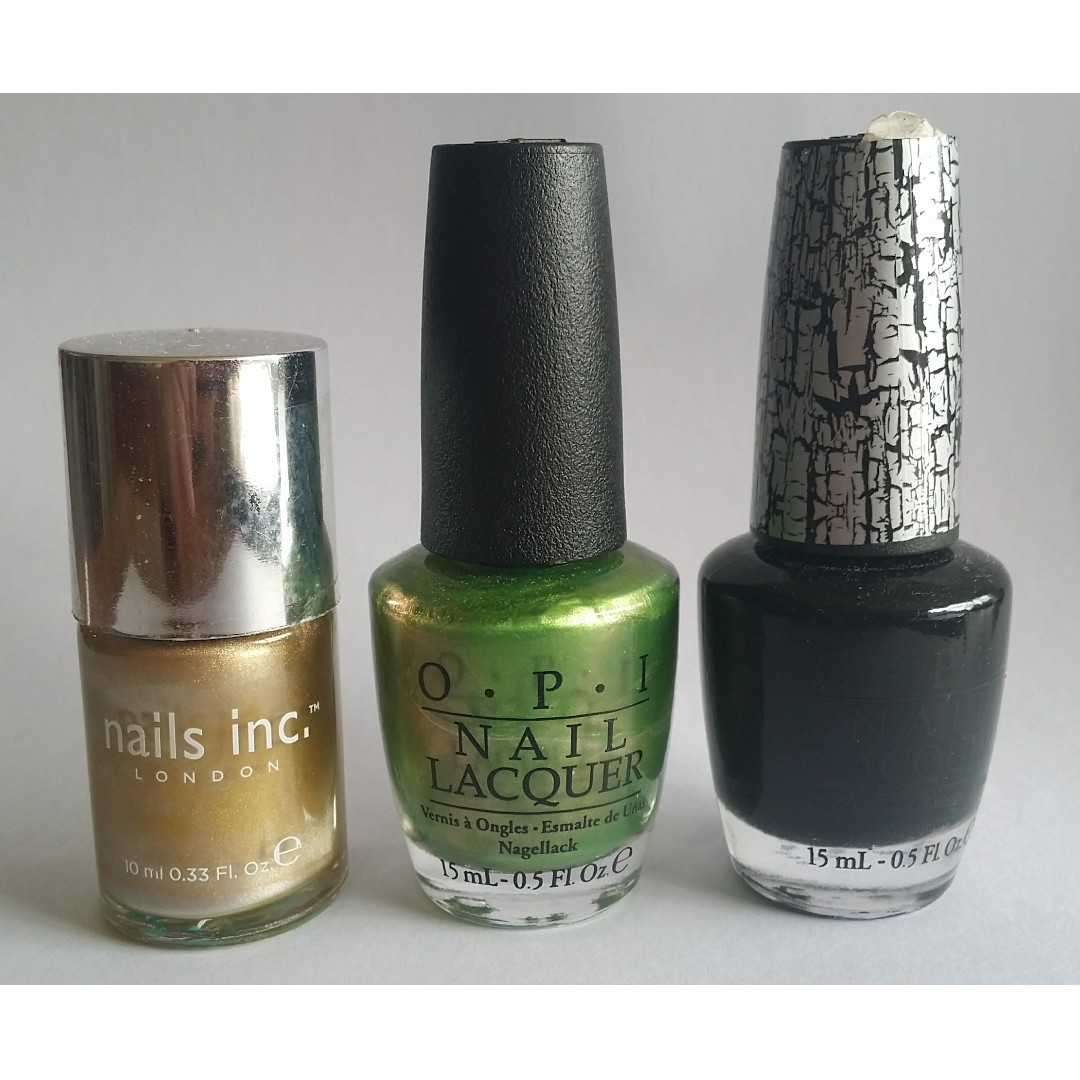 OPI and Nails Inc nail polishes