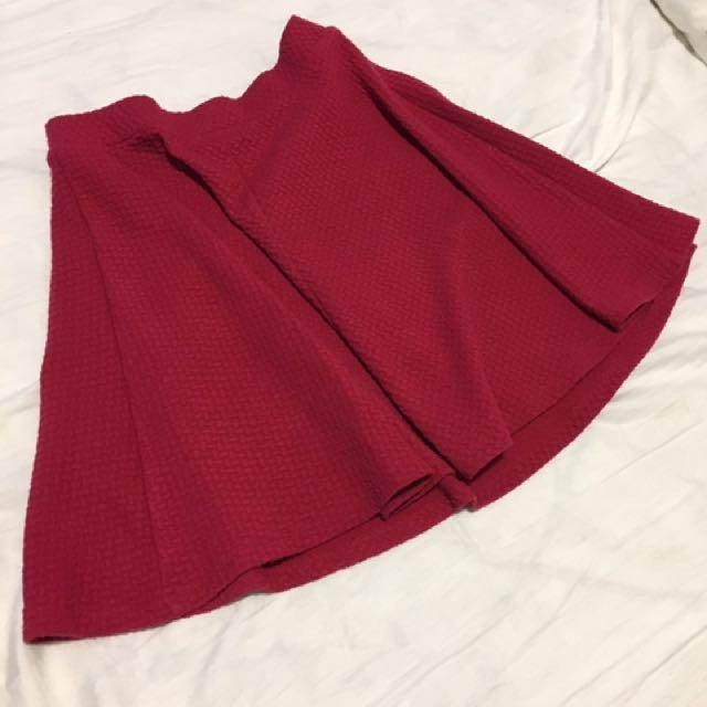 Pink A Skirt