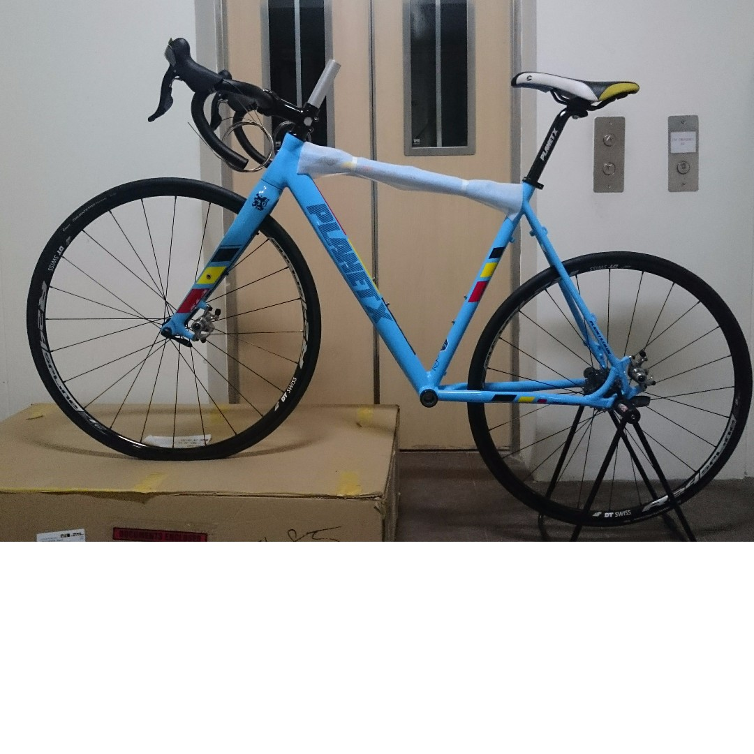 Planet X XLA Alloy Cyclocross Frame And Carbon Fork Bundle, Bicycles ...