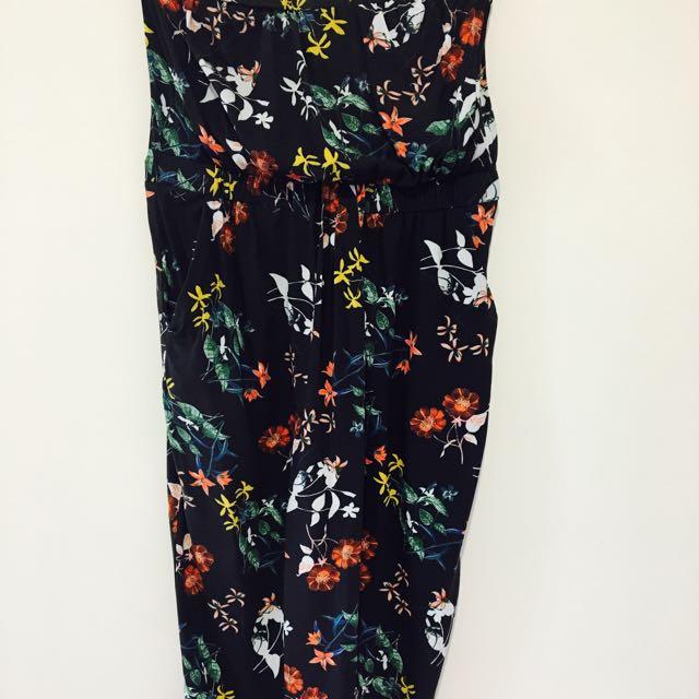 Portmans Strapless Dress Size 6