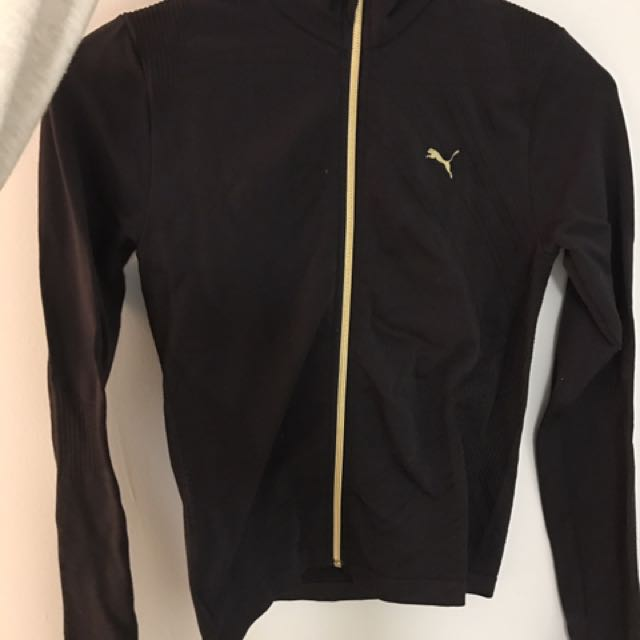 Puma Athletic Zip Up