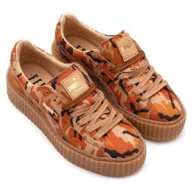 Puma Fenty Camo Creepers Sneakers 8.5