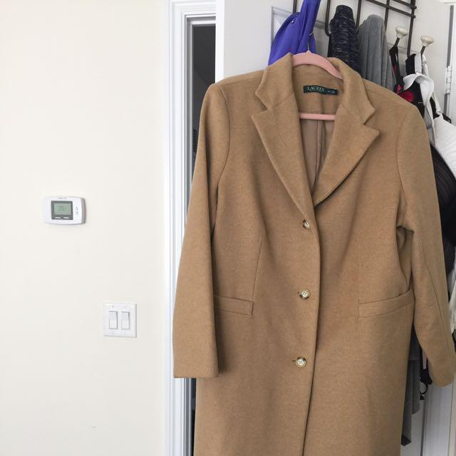 Ralph Lauren Tan Carcoat