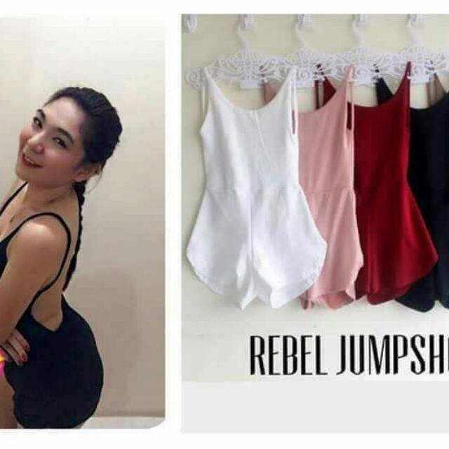 Rebel Jumpshorts (RED)