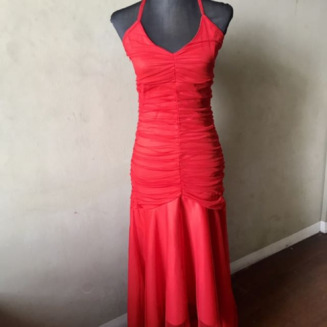 Red Cocktail Gown from Japan