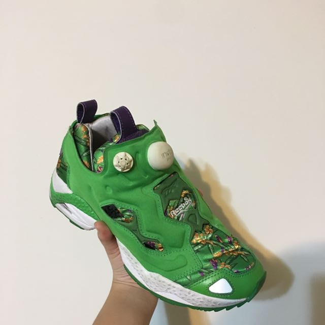Reebok Pump 綠 UK4(含運)