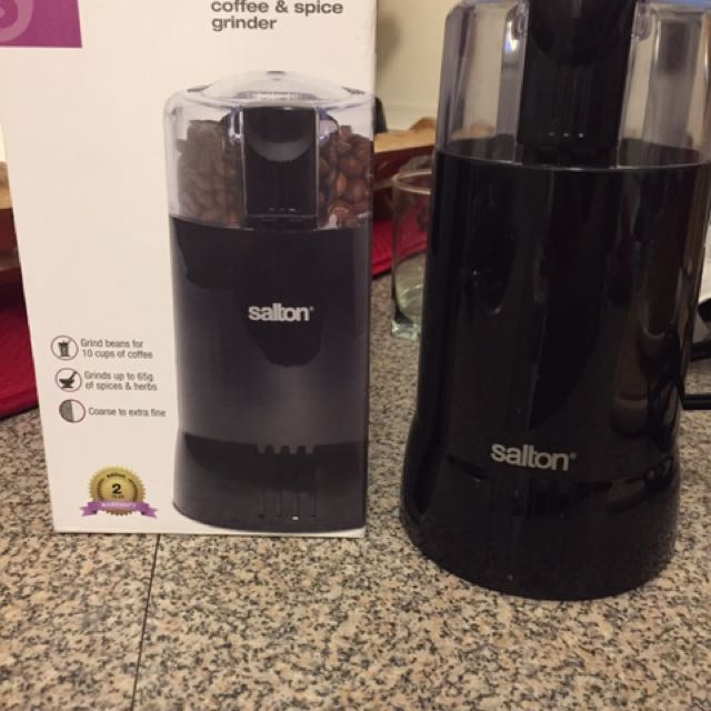Salton Coffee And Spice Grinder